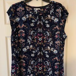 Floral Daniel Rainn blouse